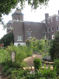 Community Garden, Galloway Church, Cooper-Young, Memphis