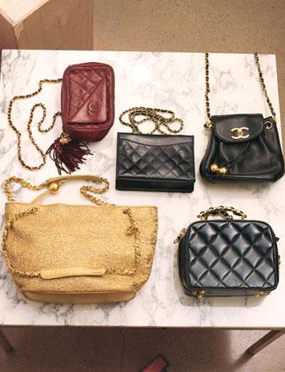Nicole Richie Lucky Magazine. 5 of Nicole#39;s Chanel bags
