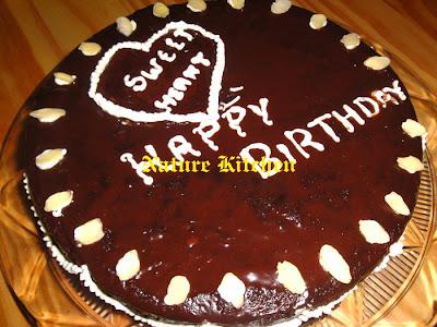 Nature Kitchen Birthday Chocolate Cake My First Award