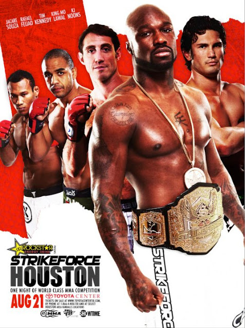 Strikeforce Houston poster King Mo