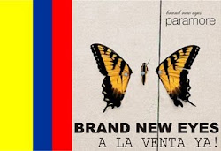 ¡Brand New Eyes en Colombia!