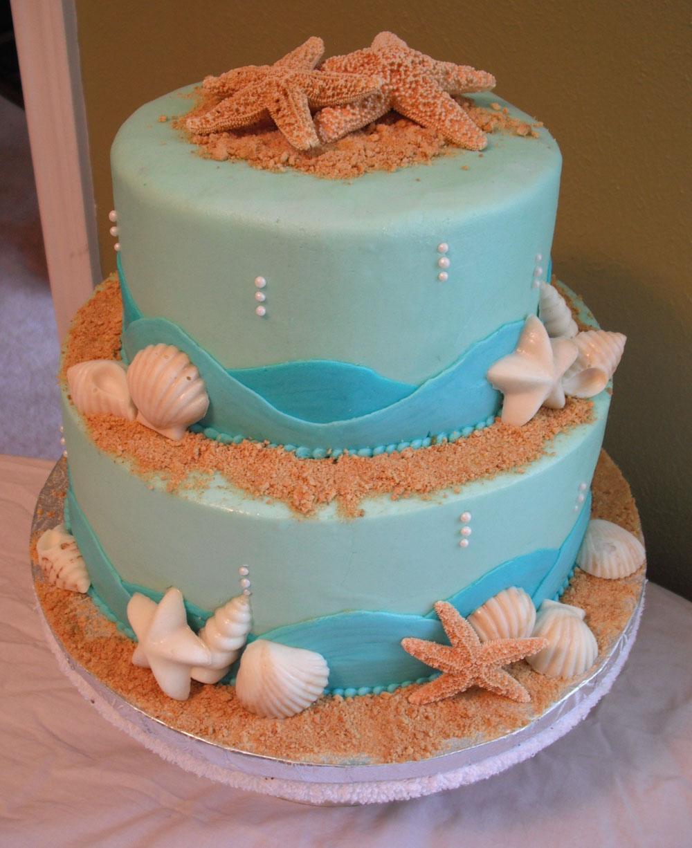 Starfish Wedding Cake Ideas