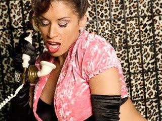 Sexy mature Latina Devon Michaels