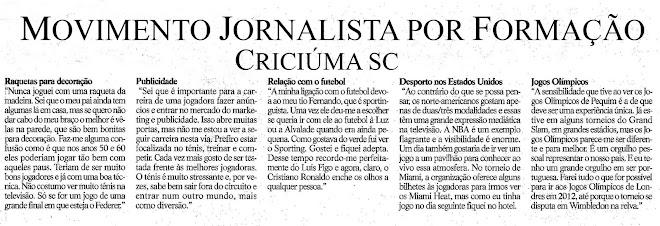 Movimento Jornalistas Por Formação de Criciúma