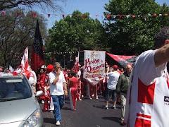 Marcha por el Centenario Quemero