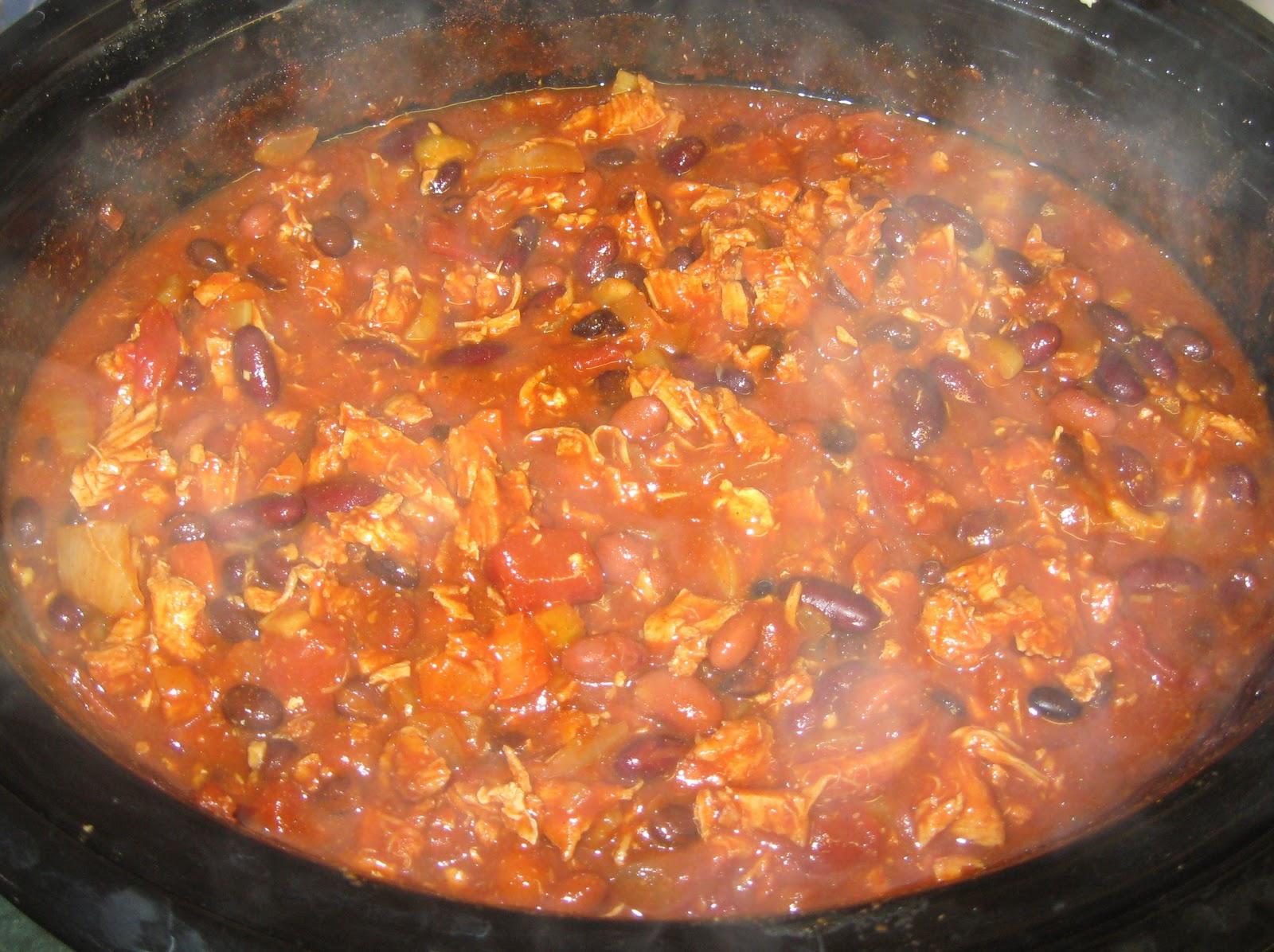 Shredded chicken chili recipe slow cooker