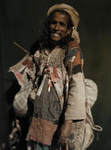An Indian beggar