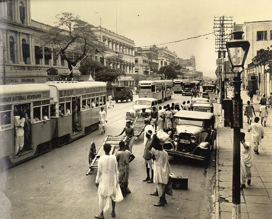 Calcutta's traffic