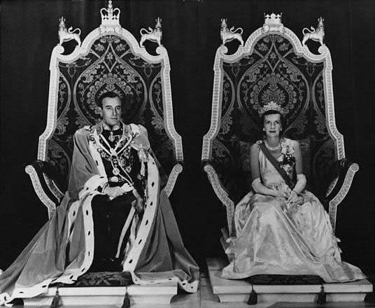 Lord and Lady Mountbatten in 1948