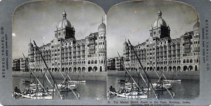 Taj Mahal Hotel Mumbai (Bombay) in 1908