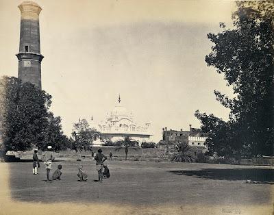 Tomb of Ranjit Singh, Lahore (Punjab, Pakistan). 1863