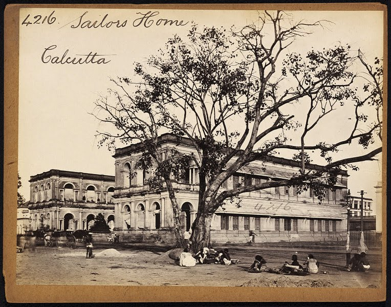 Sailors Home Calcutta (Kolkata) - Mid 19th Century