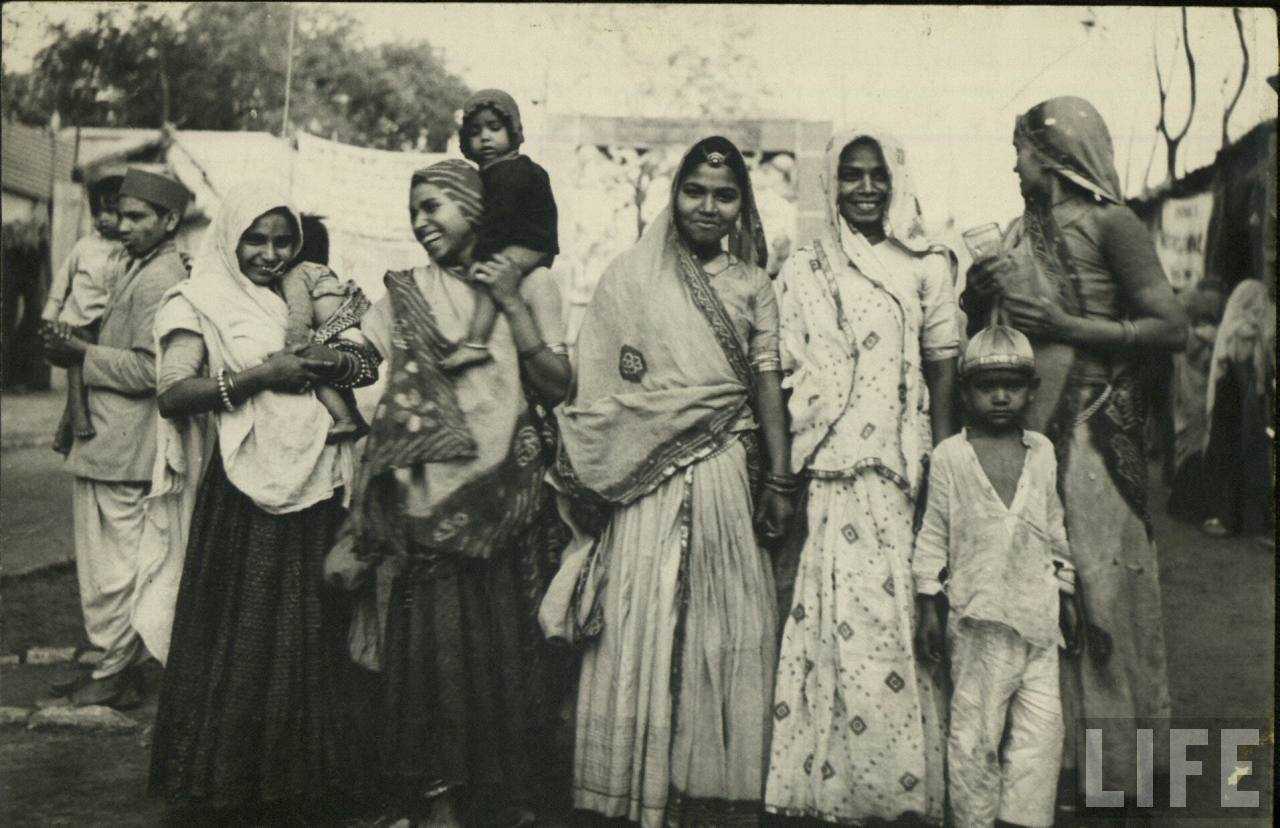 Group of Women with Children - Vintage Photograph