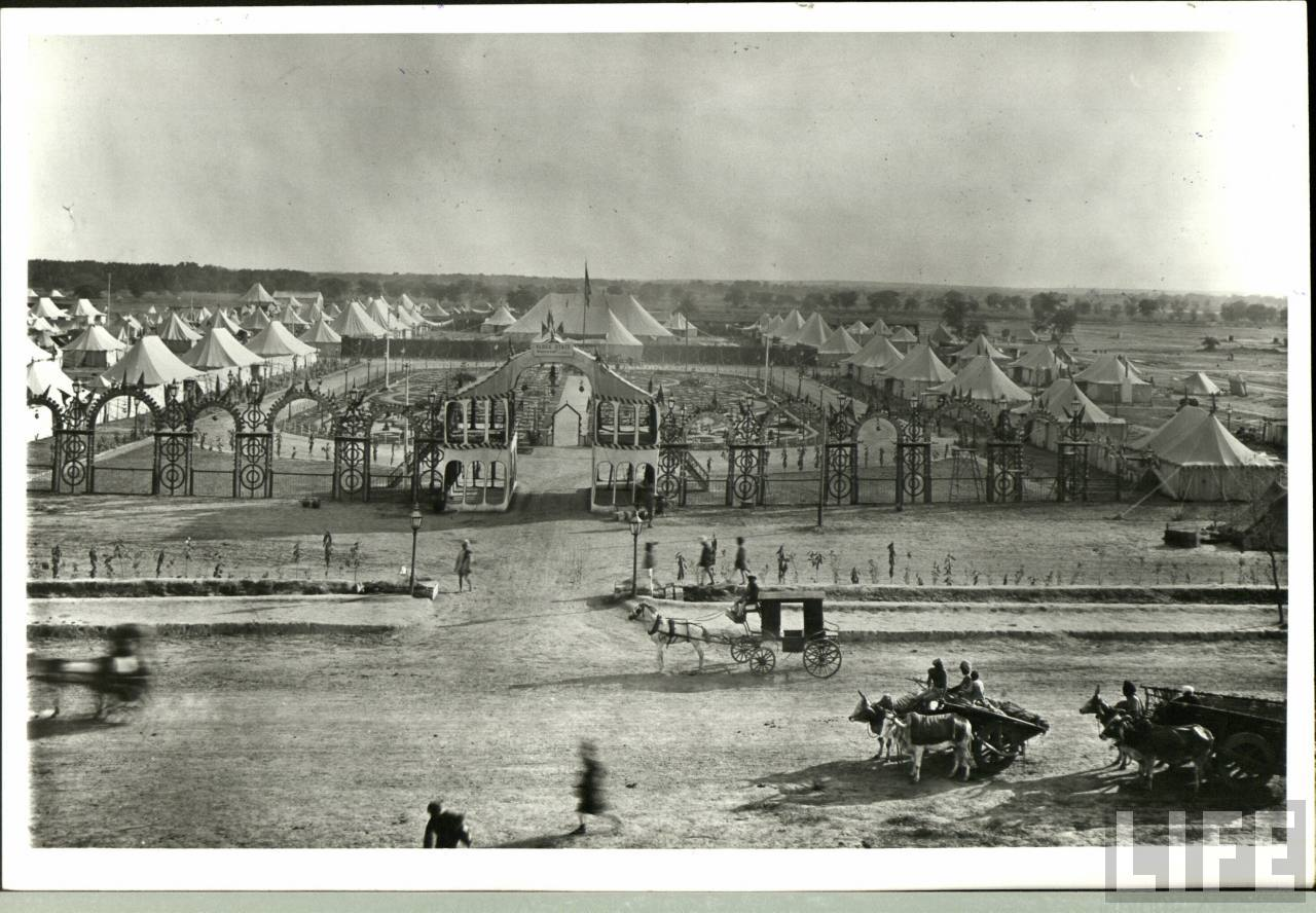 Delhi Durbar Of 1903 Old Indian Photos