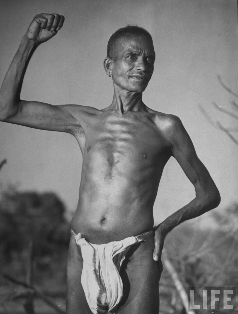 Indian aborigines Communist villagers
