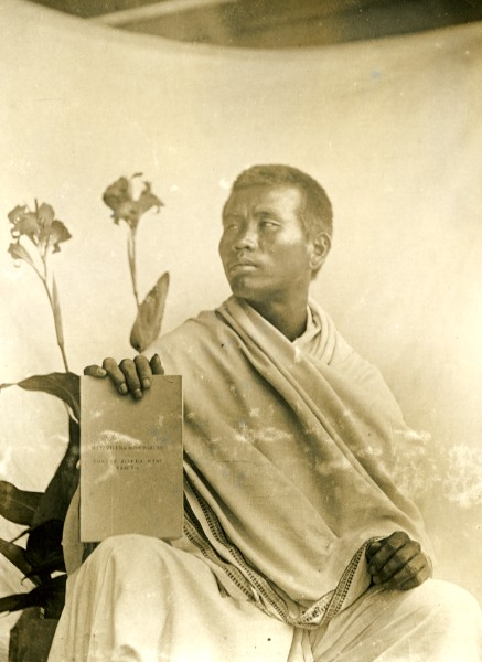 Native Christian Preacher -  Assam India 1930's