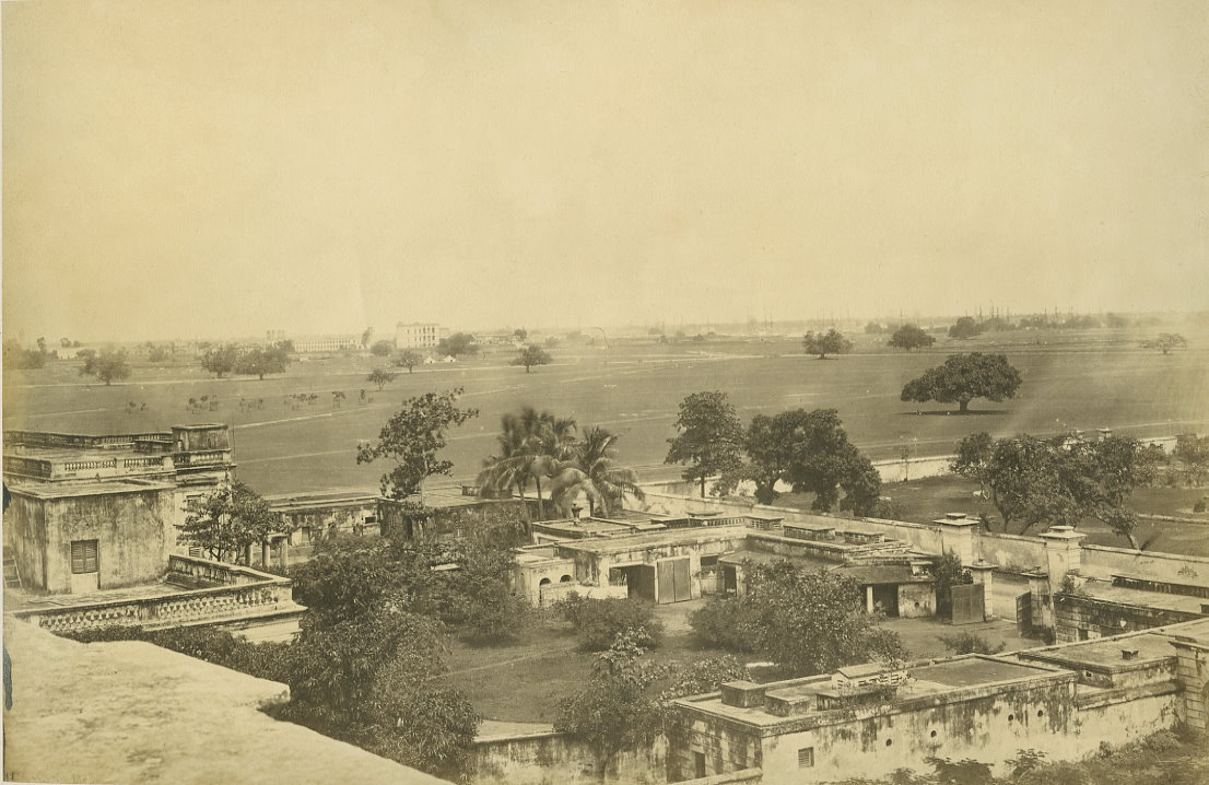 View of Calcutta (Kolkata) - 1880's