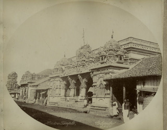 c.1890%2527s+PHOTO+INDIA+CEYLON+HINDU+TEMPLE+COLOMBO