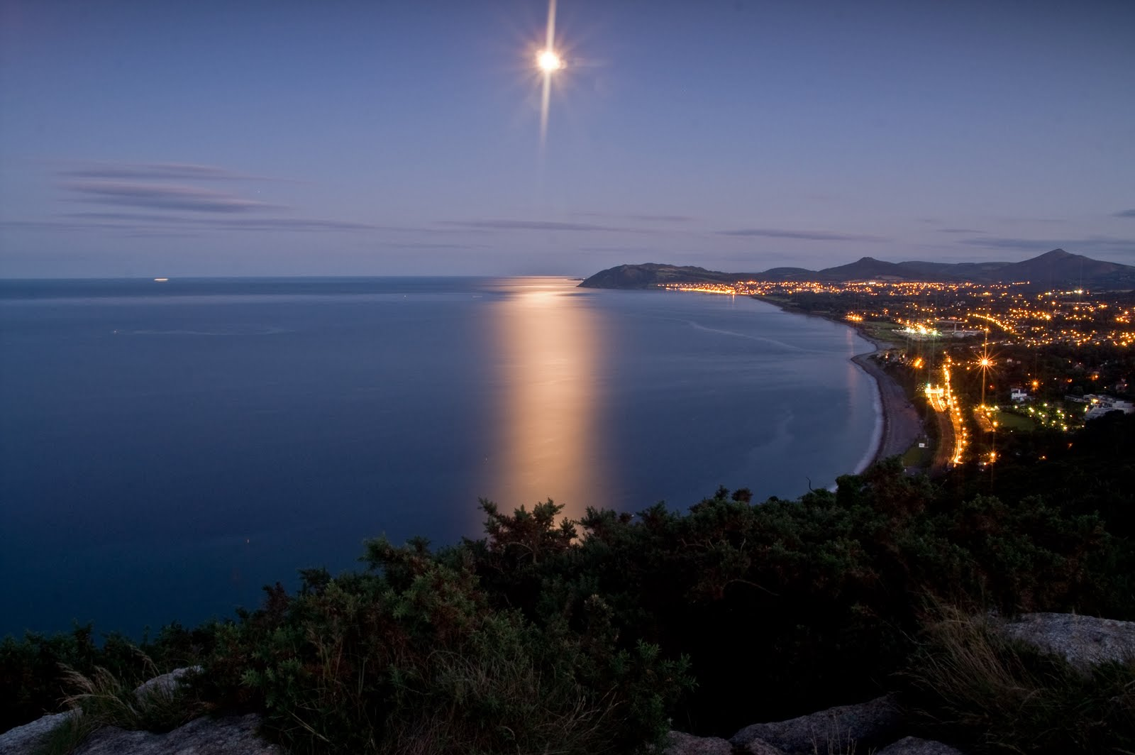 Killiney by Moonlight