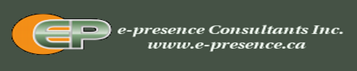 e-presence Consultants Inc. - web solutions for the small business