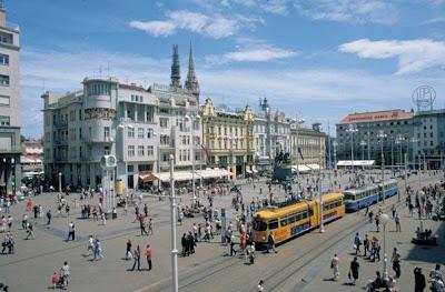 Zagreb, in Croatia.