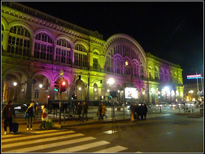 Turin - Central Railway Station
