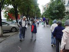 distribuire pliante in mun.Oradea 17.09.2008