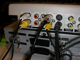 connecting video monitors to cmx07 mixer