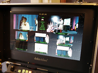 HS-2000 Church mobile HD video production studio