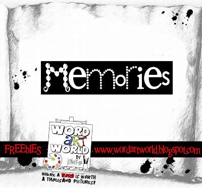 http://wordartworld.blogspot.com/2009/12/memories.html