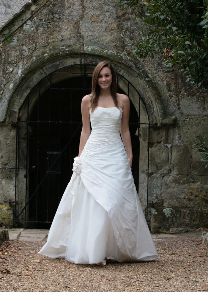 gorgeous wedding dress romantic monte carlo wedding dress