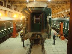 Skifter hjul på toget