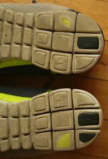 Nike Free 3.0 heel wear