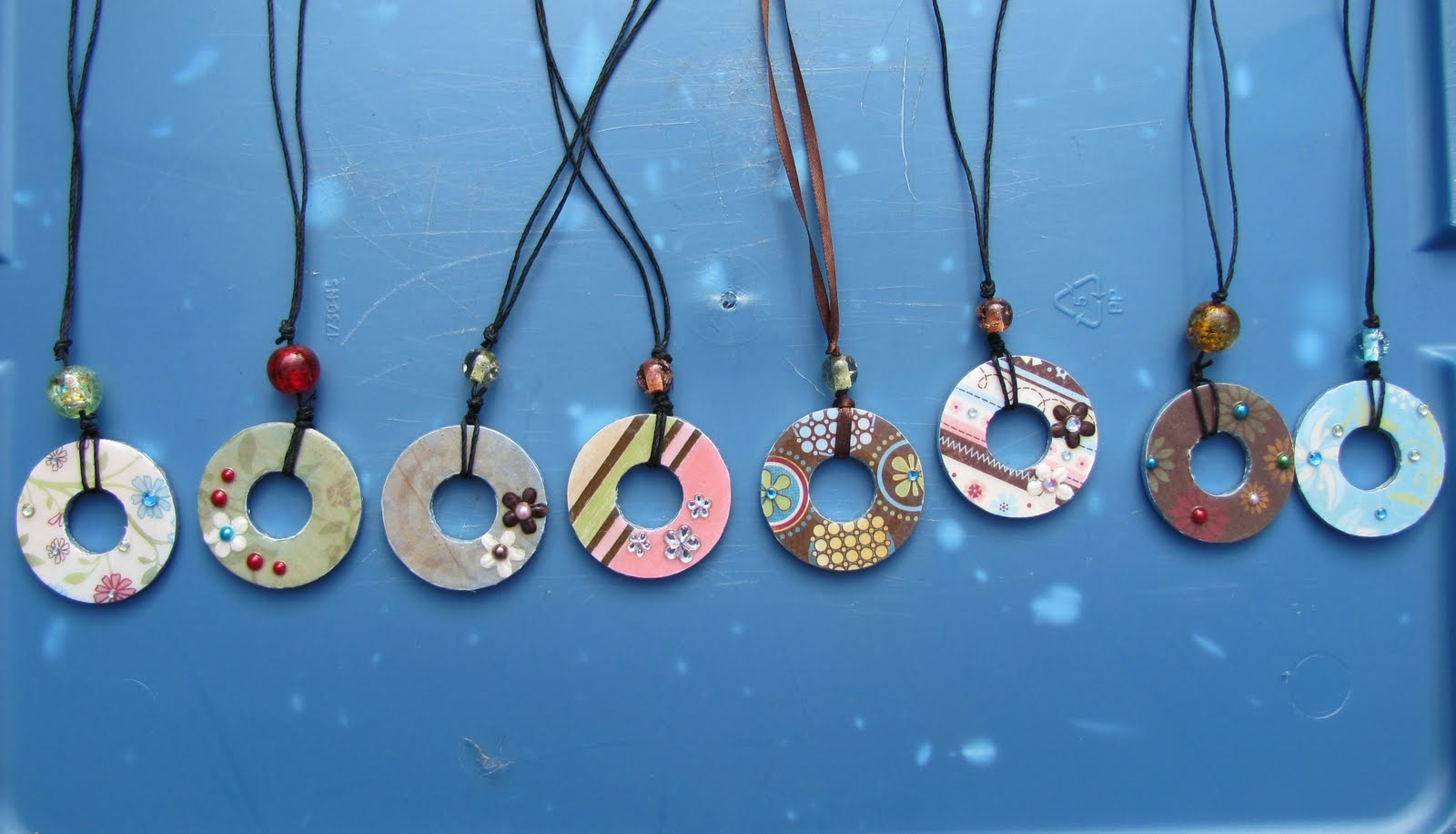 Scrapping stamping till the kids find me washer pendants washer pendants aloadofball Choice Image