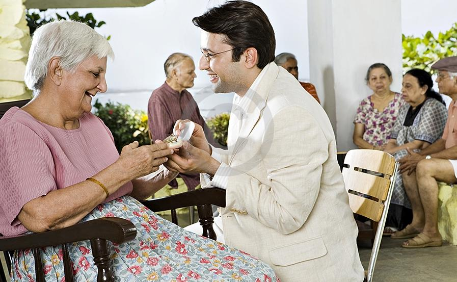 What is the relevance of Old Age Homes in India?
