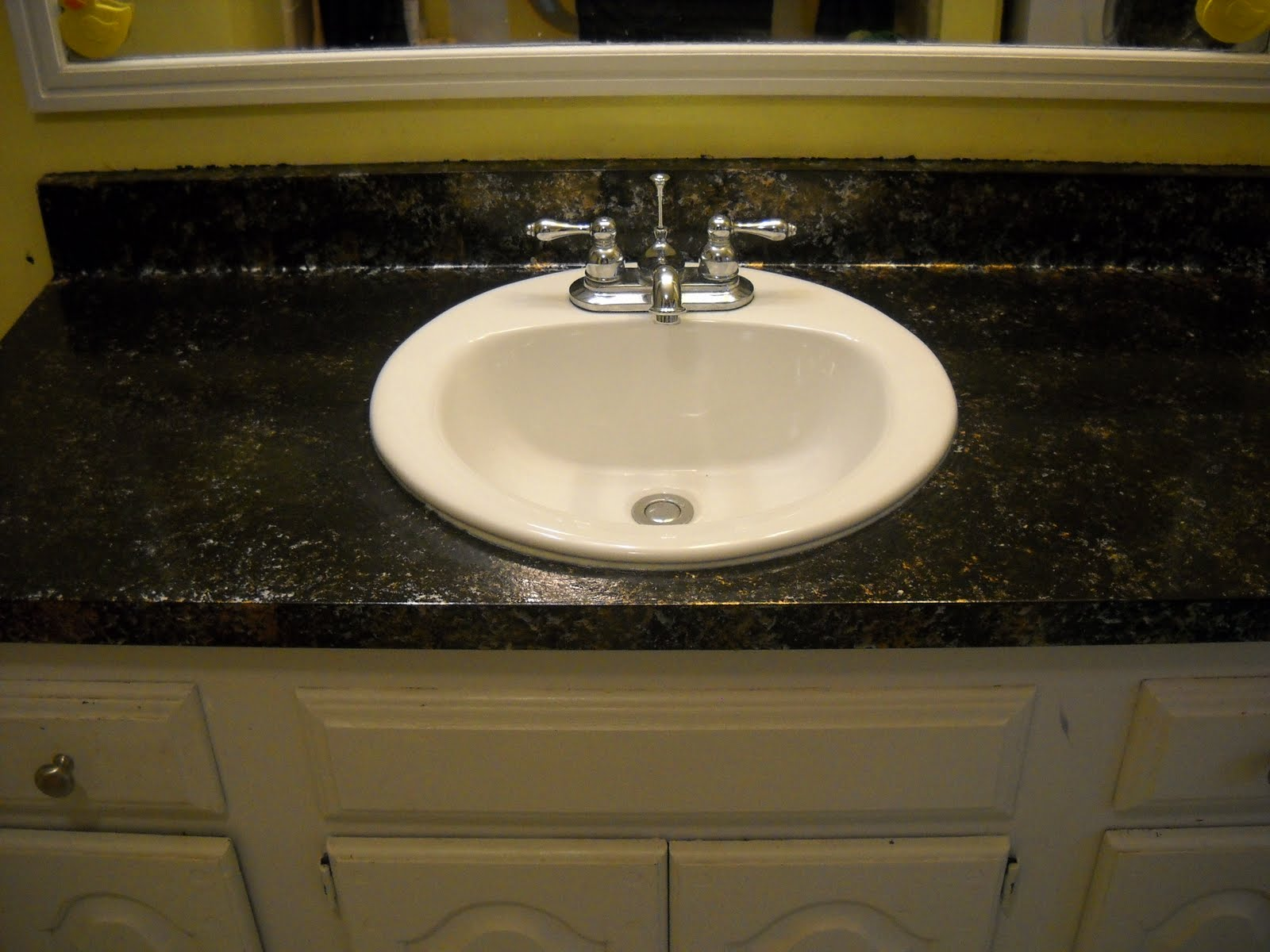 Granite Countertop Paint Menards : giani bombay black