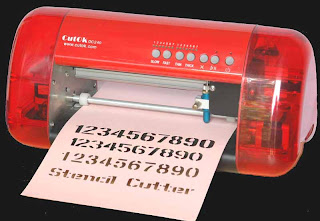 electric stencil machine