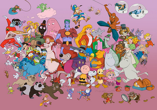 cartoon characters a-z