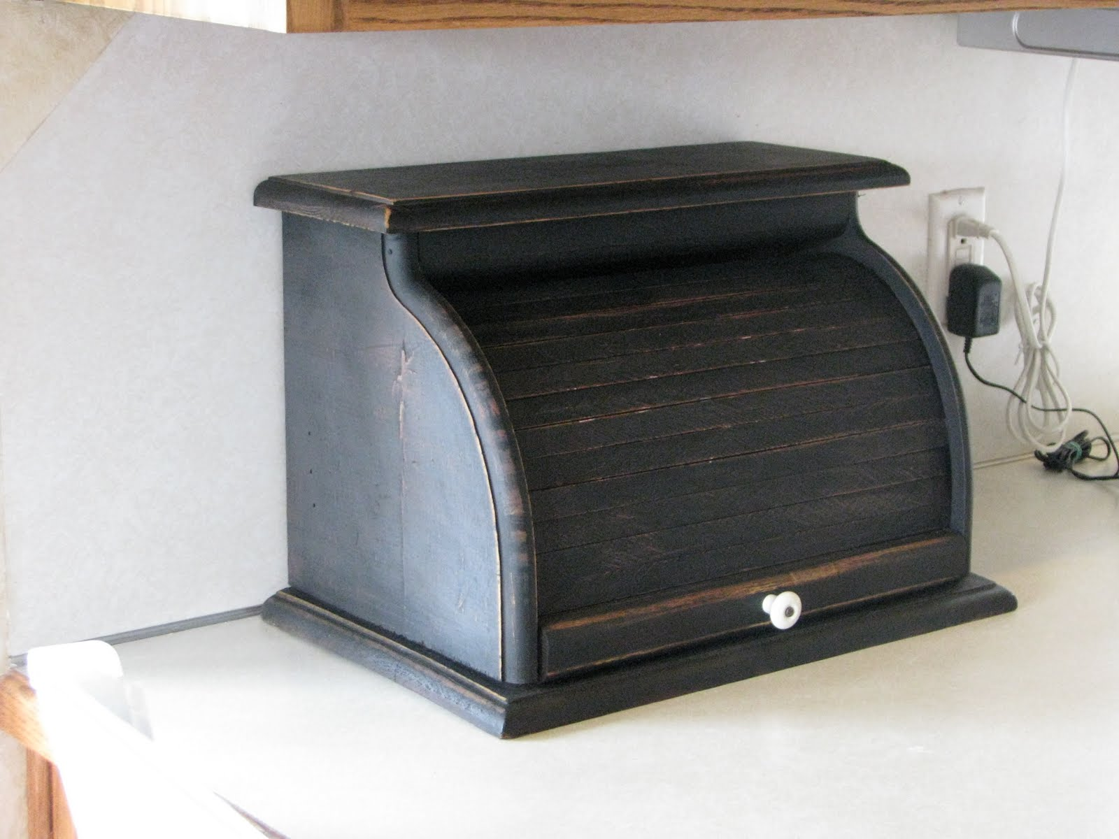 Remodelaholic bread box makeover ideas for other uses for Uses for wooden boxes