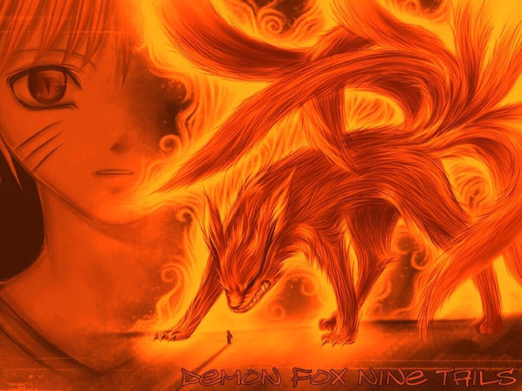 Naruto Nine Tailed Fox Forms http://bestnarutoanimes.blogspot.com/2009/08/nine-tailed-demon-anime-pictures.html