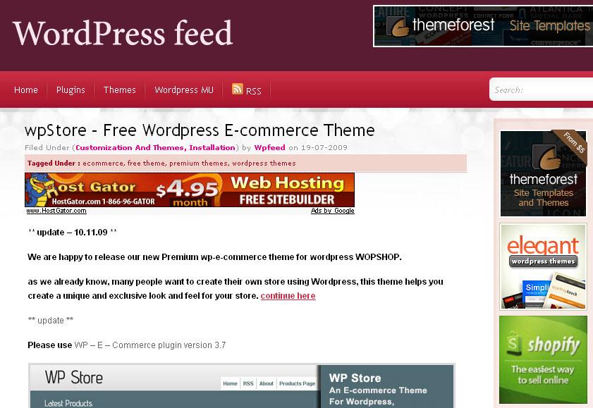 Сайт на вордпресс бесплатно