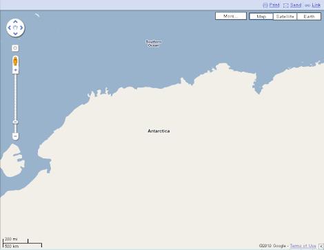 Antartica Google Street View