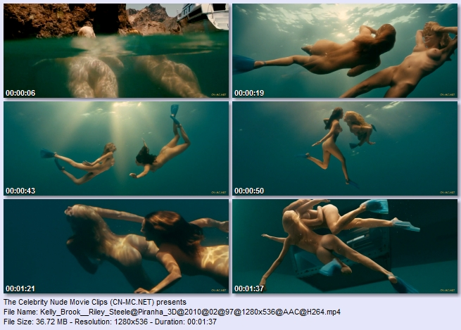 Kelly+Brook+Riley+Steele+Piranha+3D Real Couples Caught On Tape Having Sex   Click Here!