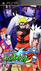 1 Naruto Shippuden Narutimate Accel 3 (JPN) PSP ISO CSO Download