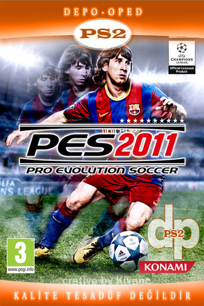 1 Pro Evolution Soccer 2011 (Pes 2011 PS2)