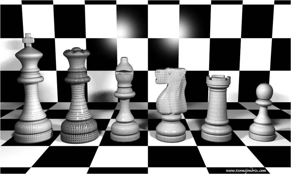 jugadores de ajedrez en lineas: