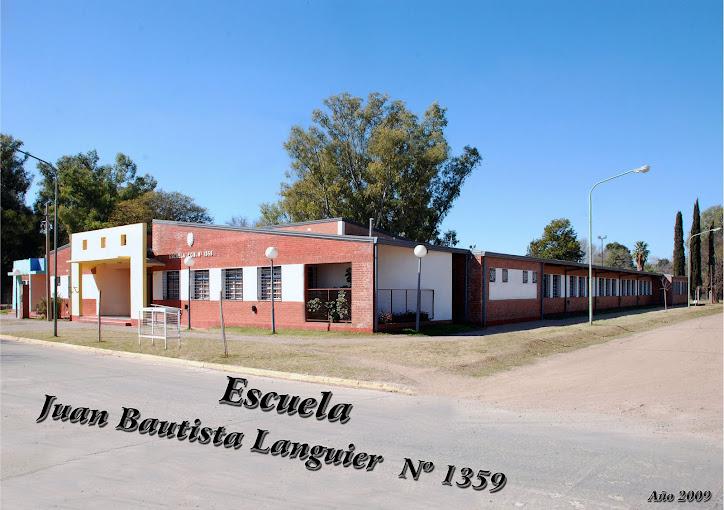 Escuela 1359 Juan B. Languier. Rafaela (Sta Fe)