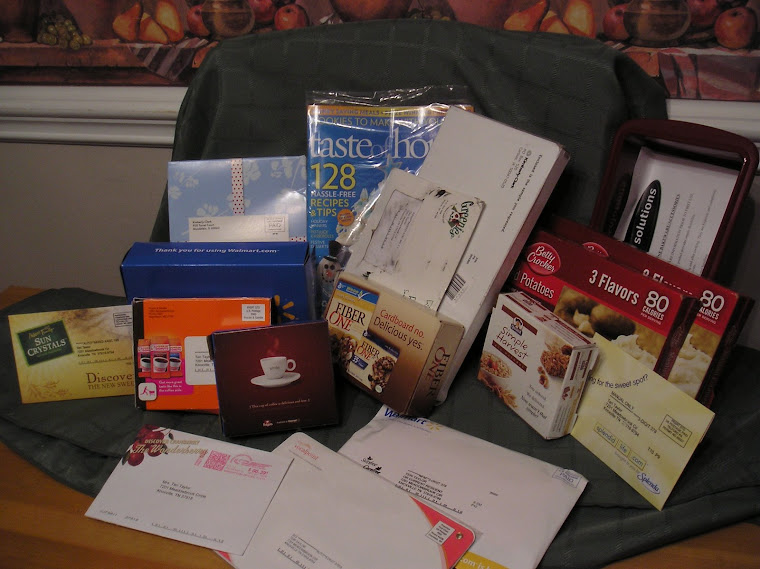 Freebies in my mailbox!!