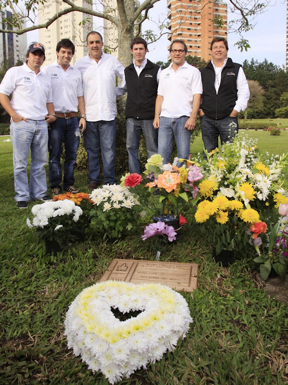 LA TRV6 LE HIZO UN HOMENAJE A SENNA EN SU PASO POR BRASIL