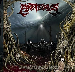 ANTRAKS - Spewing Wrath Blood (2010)